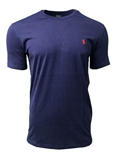 Ralph Lauren - Camiseta de manga corta con cuello redondo para hombre, talla S