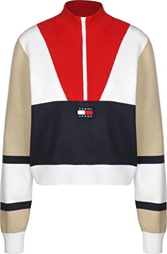 Tommy Jeans Colorblock Logo W sweater