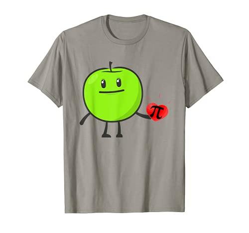 Pie de manzana Día Pi Camiseta
