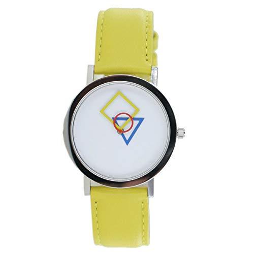 Bauhaus Design RGB - Lámpara de Techo, Color Amarillo y Multicolor