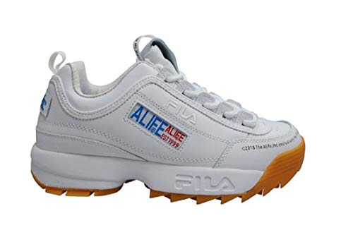 Fila Disruptor II Premium X Alfie *Rare* - Blanco Gum - F1477717, color Blanco, talla 43.5 EU