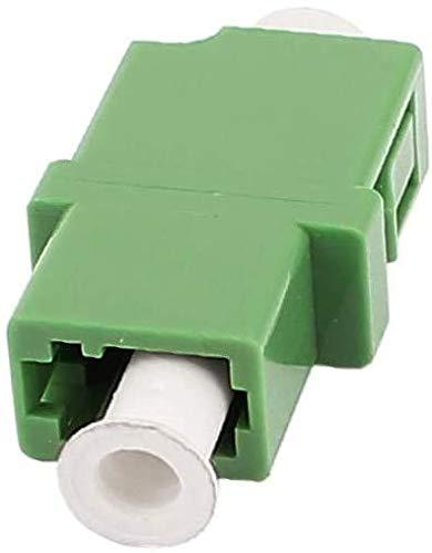 Elfcam® - Adaptador/Acoplador para fibra óptica LC/APC Monomodo Simplex, 10 unidades