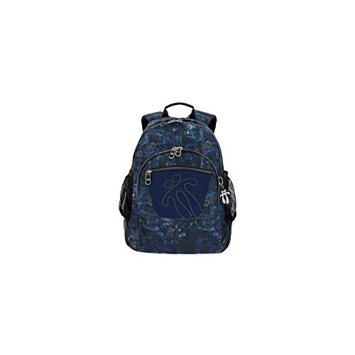 TOTTO Morral Crayoles Backpack - Navy 1710N- 1LX