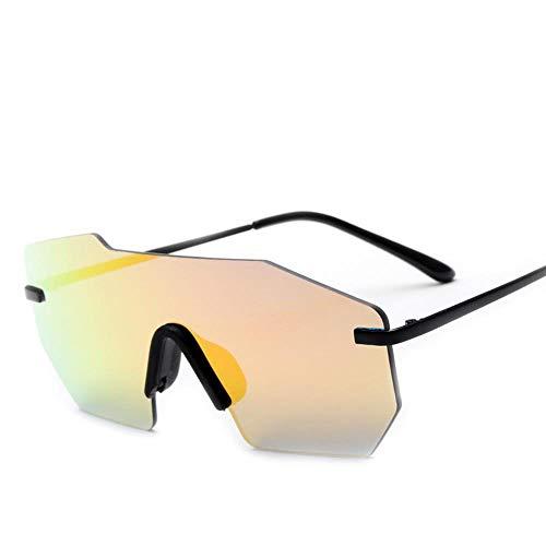 Ludage Buena Gafas de Deporte Gafas de Sol a Prueba de Viento y contra la radiación Ultravioleta para Bicicleta y Motocicleta de montaña del Montar a Caballo Todo-en-uno-Fila