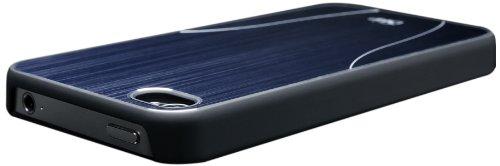 iSkin Aura Navy Schutzhülle für Apple iPhone 4/4S