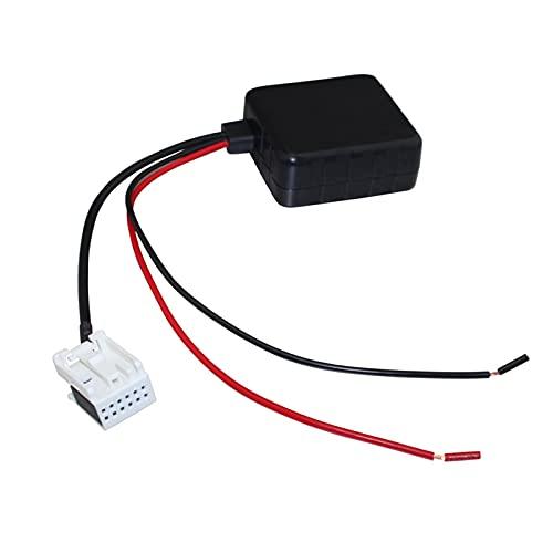 XIAO YANG Módulo Bluetooth del automóvil Apto para VW RCD210 RCD310 RCD510 Adaptador de Cable Auxiliar de Radio estéreo con Entrada de Audio inalámbrica de Filtro (Color Name : with Filter)