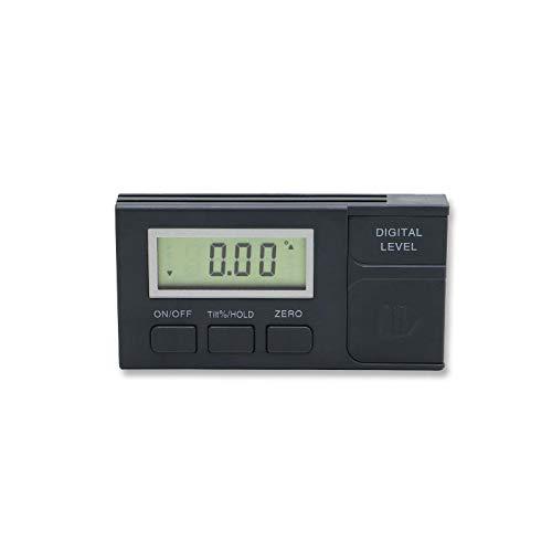 360 Grad digitaler Winkelmessgerät Mini Digital Winkelmesser Neigungsmesser Elektronische Niveau Box Kunststoff Winkelmesser Messwerkzeug