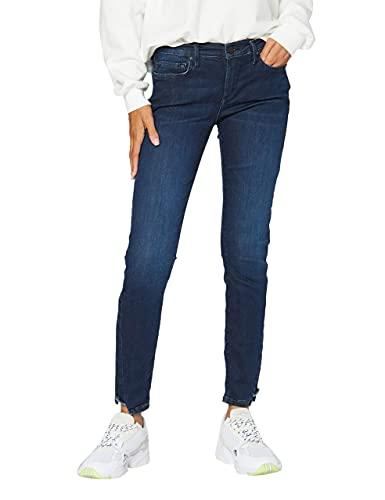 True Religion Halle Jeans, Blue Denim Super Stretch, 26 Donna