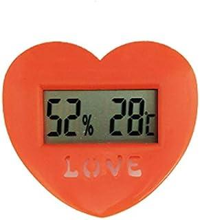 hkwshop Higrómetro para Interior Termómetro Higrómetro Temperatura Electrónica Monitor de Humedad para Oficina Celsius The...