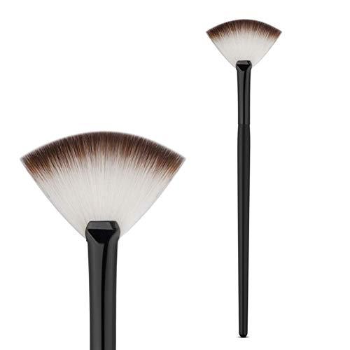 Fishyu Fan Forme Powder Anticernes Blending Brosse Professionnel Highlighter Fond de Teint Kosmetikbürste Forme