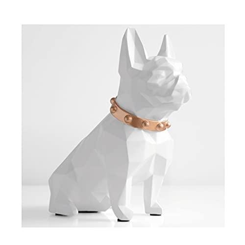 JINGER Hucha Creativa para Cachorros, Hucha de Monedas de Gran Capacidad, para niños y niñas, Regalos de cumpleaños y Navidad para Adultos (Color : White)