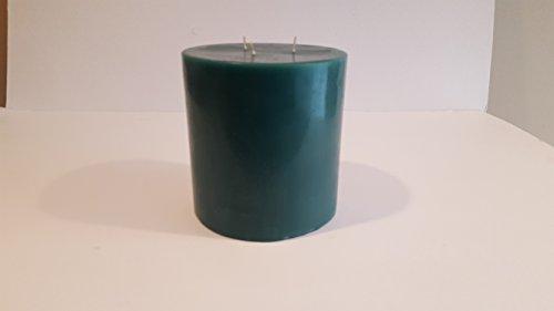 MONTGOMERY INDUSTRIES Fresh Rain Scented 3 Wick Pillar Candle 6' x 6' Tall, Vot-464