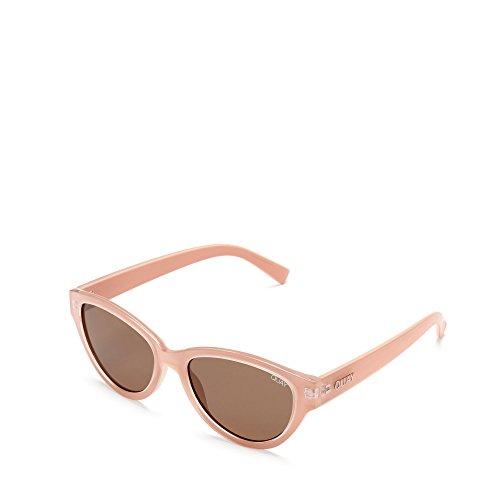 Quay Australia Sonnenbrillen Rizzo (QW-000332 CRM-BRN) rosa geräuchert - grau-braun