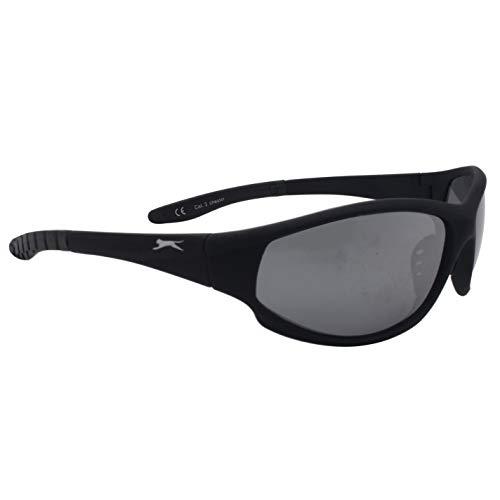 Slazenger Unisex Chester Sportsonnenbrille Gr. Einheitsgröße, Schwarz