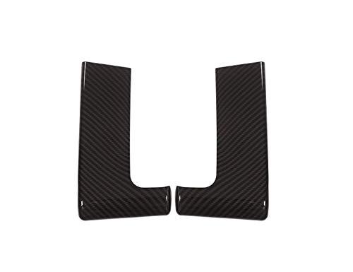 Accessoire intérieur pour Sport RR Sport 2014-2017 Noir Plastique ABS Fibre Carbone décoration Couvercle Ventilation latérale Tableau Bord