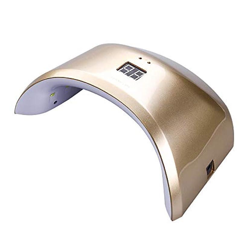 長方形アフリカ立ち寄るタイマーが付いている24W紫外線LEDライトランプのゲルの釘のドライヤー、ゲルの釘およびつま先の釘の治療法のためのセンサー