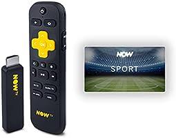 NOW Smart Stick con i primi 2 mesi di Sport inclusi | Chiavetta streaming | TV