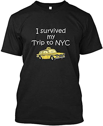 IRRI I Survived My Trip to NYC T Shirt Black T-Shirt Front