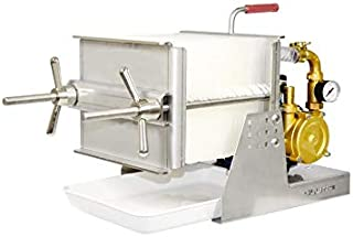 CILLITEK Filtre inox 20 avec pompe en laiton professionnelle rotative en laiton pour filtration des liquides