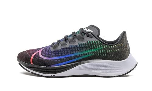 Nike Air Zoom Pegasus 37 Btrue Donne Running Trainers CZ5923 Sneakers Scarpe (UK 8.5 US 11 EU 43, Black White Multi Color 001)