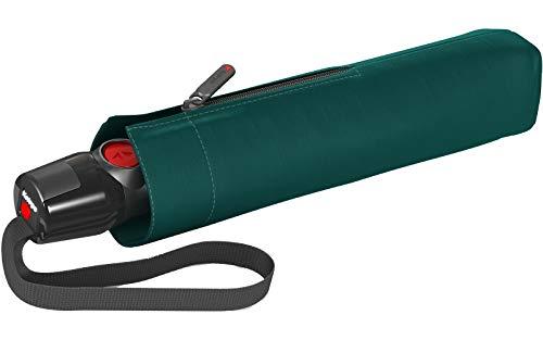 Knirps T.200 Medium Duomatic Regenschirm Taschenschirm T200 Auf-Zu Automatik sturmfest bis 140km/h solids jade