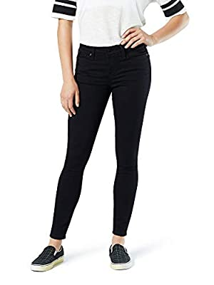 Signature by Levi Strauss & Co. Gold Label Mid-Rise Skinny Night Sky 18
