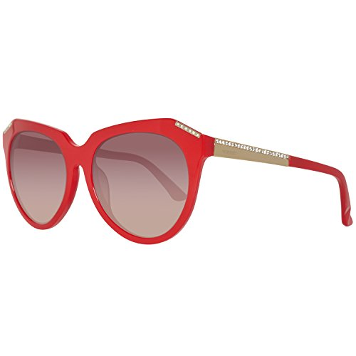 Swarovski Sunglasses Sk0114 66F-56-17-140 Gafas de sol, Rojo (Rot), 56 para Mujer