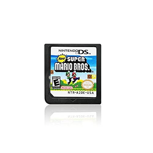 Tarjeta de juego de cartucho de juego SoulSilver HeartGold Diamond Pearl Platinum DS (versión de reproducción) para DS 3DS 2DS NDS (Super Mario Bros)
