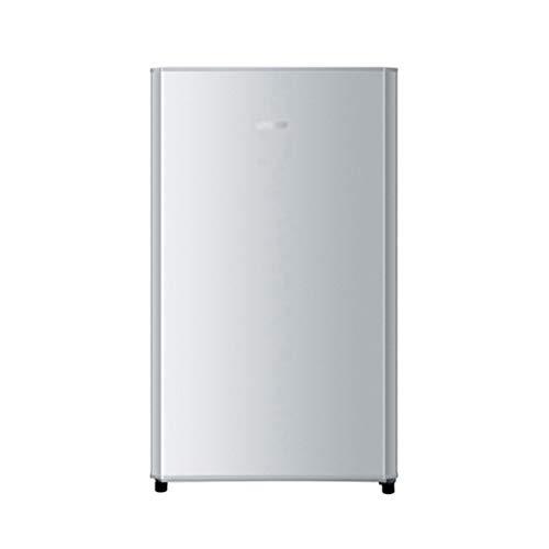 Mini réfrigérateurs Réfrigérateurs Domestique Simple Porte Petit Réfrigérateur Refroidisseur Portable Simple pour Bureau Réfrigérateur De Voiture Réfrigéré (Color : Silver, Size : 48 * 54 * 86cm)