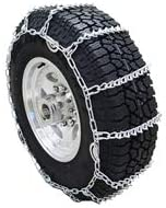 Twist Link Tire Chain with V-Bar for Trucks and SUV's: image