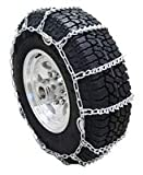 Twist Link Tire Chain with V-Bar for Trucks and SUV's