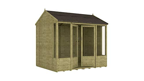 Project Timber 8ft x 6ft Pressure Treated Hobbyist Summerhouse (8 x 6)