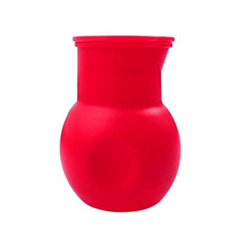 Ruiboury Schokolade Melting Pot Silikon Backen Eingießen Werkzeug Red Mikrowelle Butter Melter Wärme Nonstick