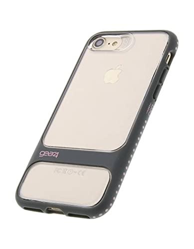 Gear4 Soho - Carcasa para iPhone SE (2020)/8/7, color negro y rosa