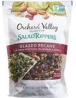 Orchard Valley Harvest Salad Toppers Glazed Pecan 24 oz Resealable bag