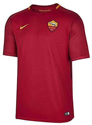 2017-2018 AS Roma Home Nike Football Shirt