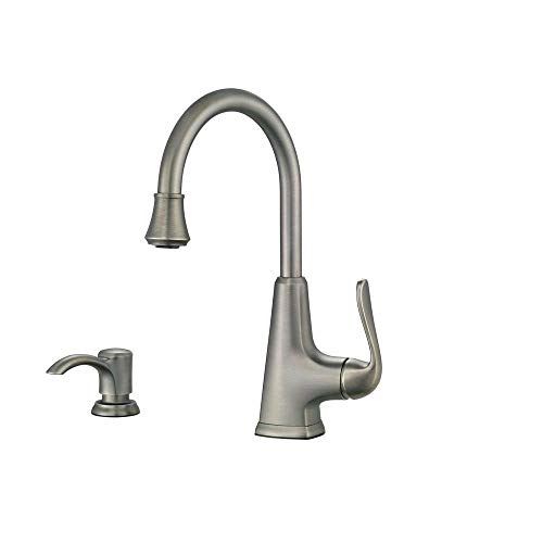 Best Review Of Pfister F-072-PDSL Pasadena Single-Handle Bar Faucet in Slate (Renewed)