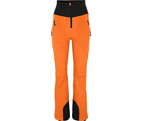 Bergson dames skibroek Mien (slim fit) - vormband, bi-elastisch, ventilatie bovenbeen, warm gewatteerd, waterkolom: 20000 mm, ademend: 20000 g/qm/24 uur, PFC-vrij