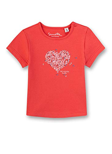 Sanetta Fiftyseven T-Shirt, Rouge (Chilli 37007), 58 (Taille Fabricant: 056) Bébé Fille