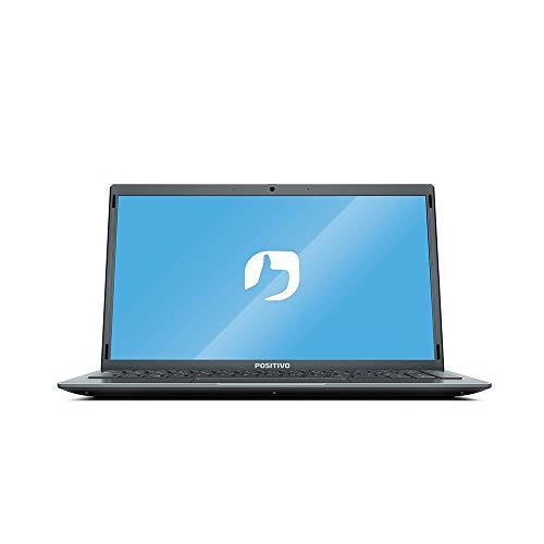 Notebook Positivo Motion Q464C Intel® Atom® Quad-Core Windows 10 Home - Cinza