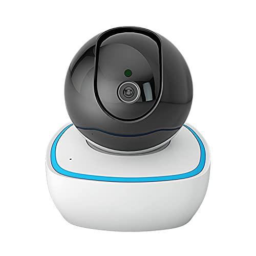 ErLaLa Cámara de vigilancia WiFi Interior 1080P,Visión Nocturna HD,detección remota de Movimiento,Alerta de aplicación,Audio bidireccional,