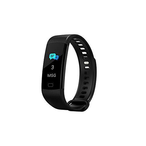 LHZTZKA armband in de vorm van intelligente sport-tracker, multifunctioneel, waterdicht en stofdicht, Y5-frequenties, stappenteller, weergave 0,96 inch