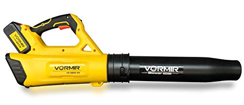 VORMIR 20V Max Dual Speed Cordless Leaf Blower, 4.0Ah Battery and Charger Included