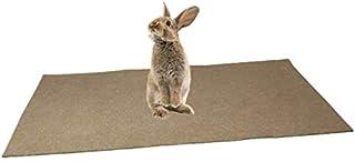 Alfombra comestible para roedor, 100 % cáñamo (800 g/m2) – 1 m x 0,40M – arena de suelo para roedores – Cubre el fondo de ...