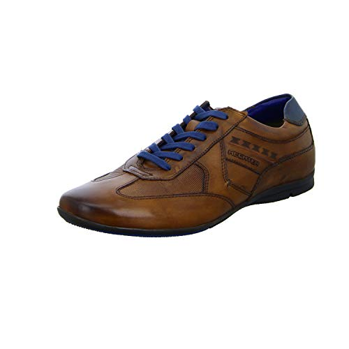 Daniel Hechter Herren 821248021110 Sneaker, Braun (Cognac/Blue 6340), 44 EU