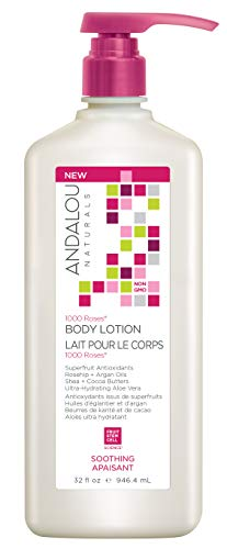 1000 Roses SOOTHING Body Lotion, 32 fl. oz.