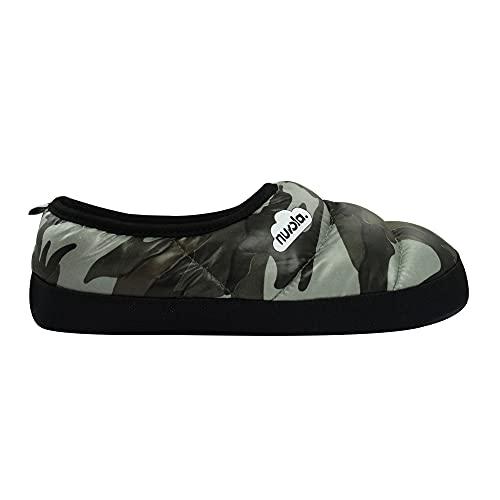 Zapatilla de Estar por casa NUVOLA,Camouflage Suela de Goma.Zapatilla...