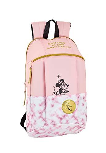 """Safta -Minnie Mouse """"Blogger"""" Oficial Mini Mochila Uso Diario 220x100x390mm"""
