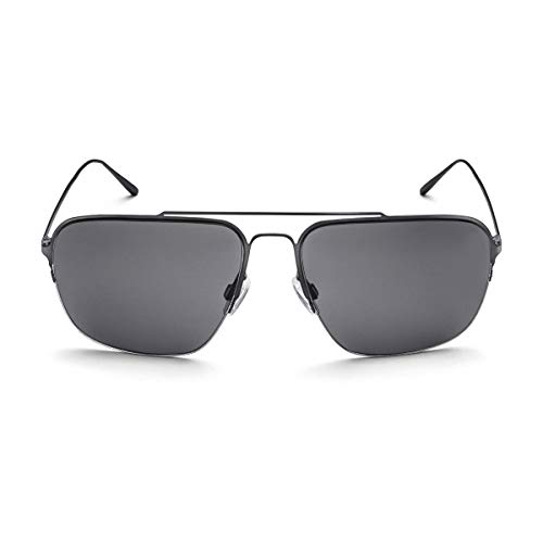 Audi 3111800100 zonnebril, heren, donkergun, grijs