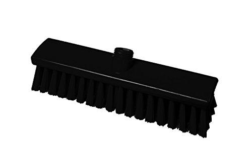 Maya Professional Tools 15023-6 Mittelharter Besen FBK/Lebensmittelhygiene, 300 mm x 60 mm, Schwarz